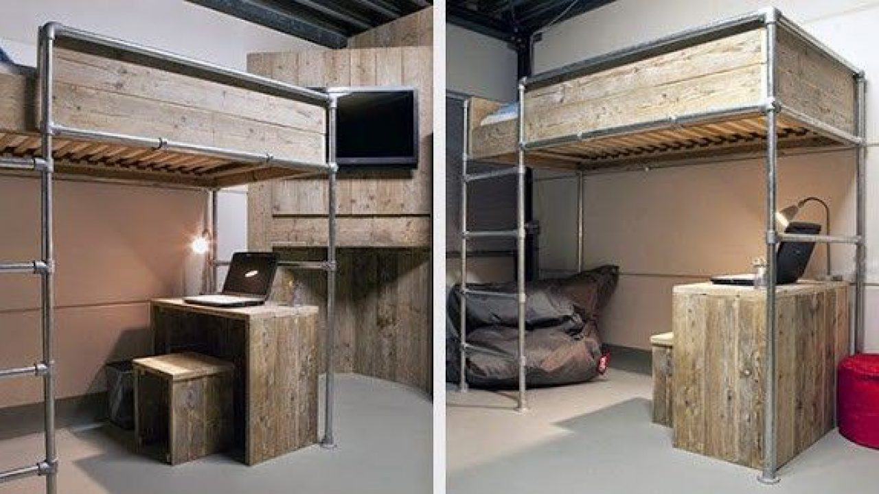 Loft bed diy construction drawings and