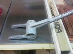 Pallet breaker tool for dismantling pallets.