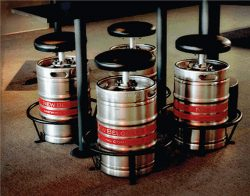 Great idea for repurposing of old beer barrels.