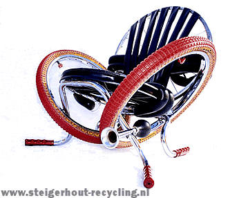 Bicycles Recycled And Repurposed Bicycle Furniture Bike