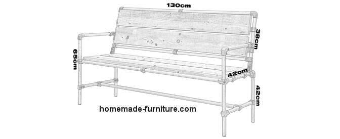 Tube Bench Construction Plan For Scaffolding Tubes And