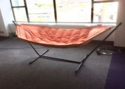 Support frame for a hammock.