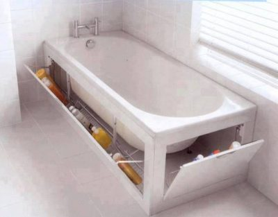 Extra space in your bathroom.